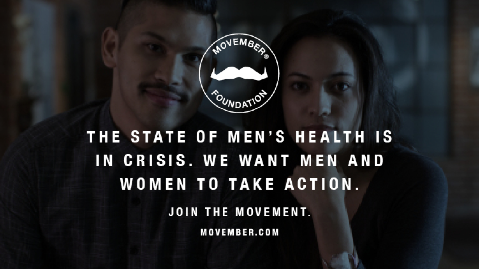 Movember: Be The Difference